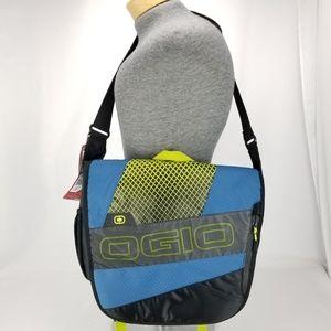 OGIO X-Train Navy Acid Unisex Messenger Bag Endura